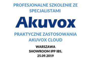 szkolenie z akuvox cloud